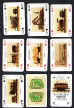 Vintage Collectible playing cards . Marklin Model trains